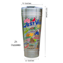 Load image into Gallery viewer, West Virginia Thermal Tumbler (Set of 4) - PREORDER Thermal Tumbler catstudio