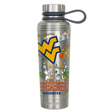 Load image into Gallery viewer, West Virginia University Collegiate Thermal Bottle - catstudio