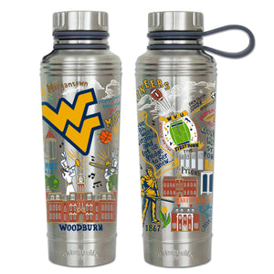West Virginia University Collegiate Thermal Bottle - catstudio