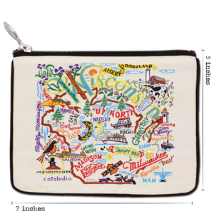Wisconsin Zip Pouch - Natural - catstudio