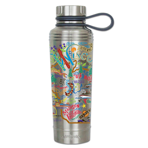 Wisconsin Thermal Bottle - catstudio