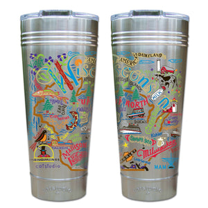 Wisconsin Thermal Tumbler (Set of 4) - PREORDER Thermal Tumbler catstudio