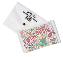 Load image into Gallery viewer, Wisconsin, University of Collegiate Dish Towel - catstudio