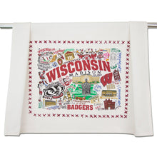 Load image into Gallery viewer, Wisconsin, University of Collegiate Dish Towel Dish Towel catstudio