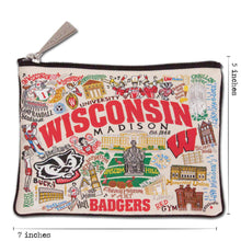 Load image into Gallery viewer, Wisconsin, University of Collegiate Pouch Pouch catstudio