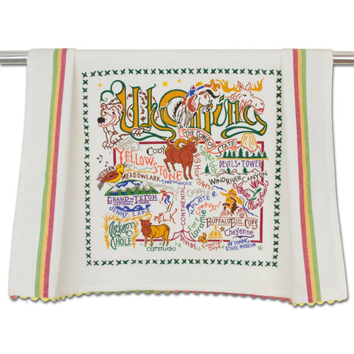 Wyoming Dish Towel Dish Towel catstudio