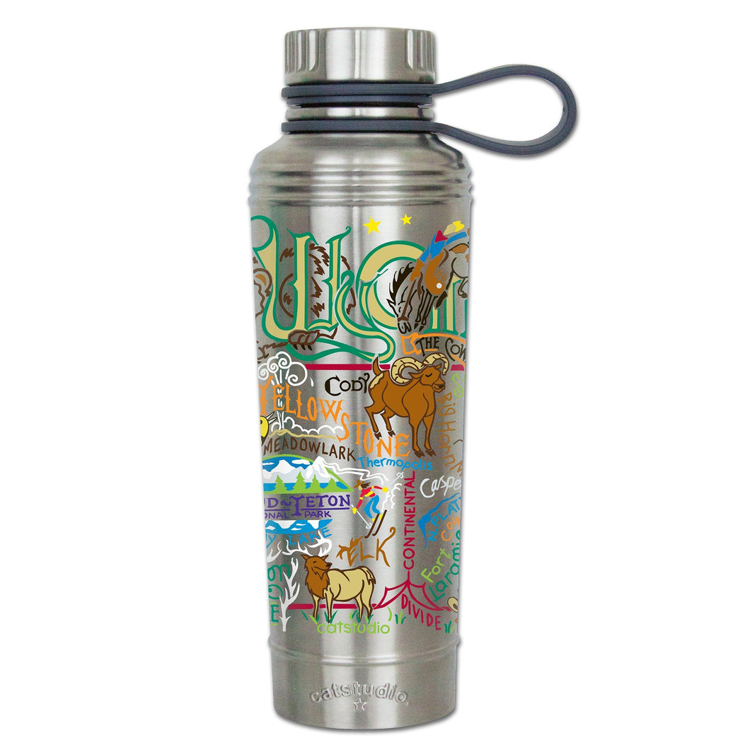 Wyoming Thermal Bottle - catstudio
