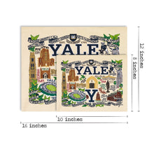 Load image into Gallery viewer, Yale University Collegiate Fine Art Print - catstudio