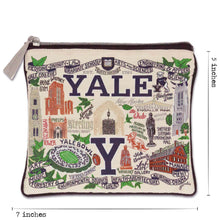 Load image into Gallery viewer, Yale University Collegiate Pouch Pouch catstudio