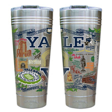 Load image into Gallery viewer, Yale University Collegiate Thermal Tumbler (Set of 4) - PREORDER Thermal Tumbler catstudio