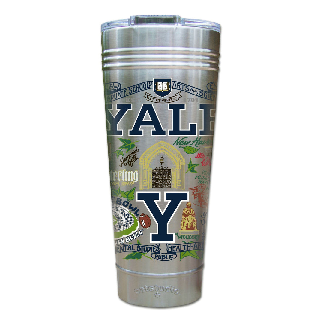 Yale University Collegiate Thermal Tumbler (Set of 4) - PREORDER Thermal Tumbler catstudio