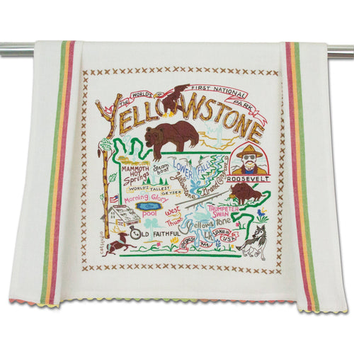 Yellowstone Dish Towel Dish Towel catstudio