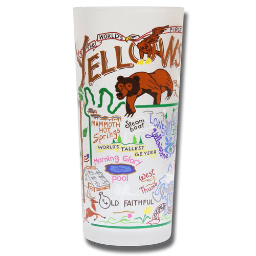 Yellowstone Drinking Glass - catstudio