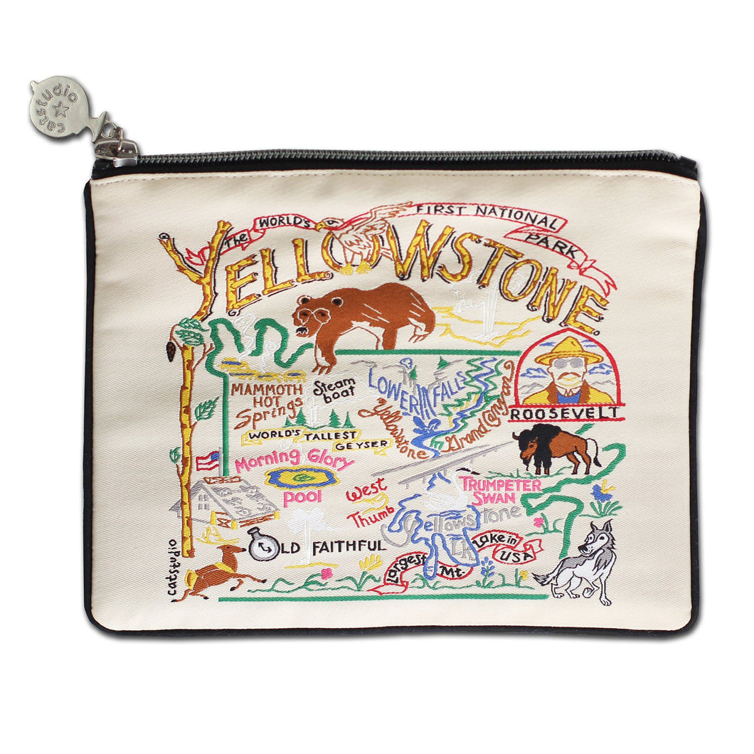 Yellowstone Zip Pouch - Natural - catstudio
