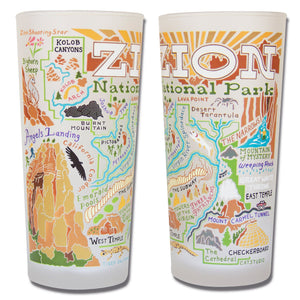 Zion Drinking Glass - catstudio