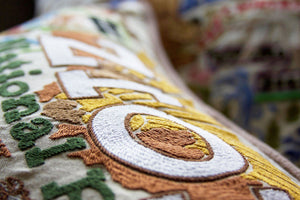 Zion Hand-Embroidered Pillow - catstudio