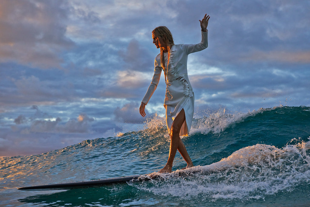 SURF GIRL- MARK MAGAZINE