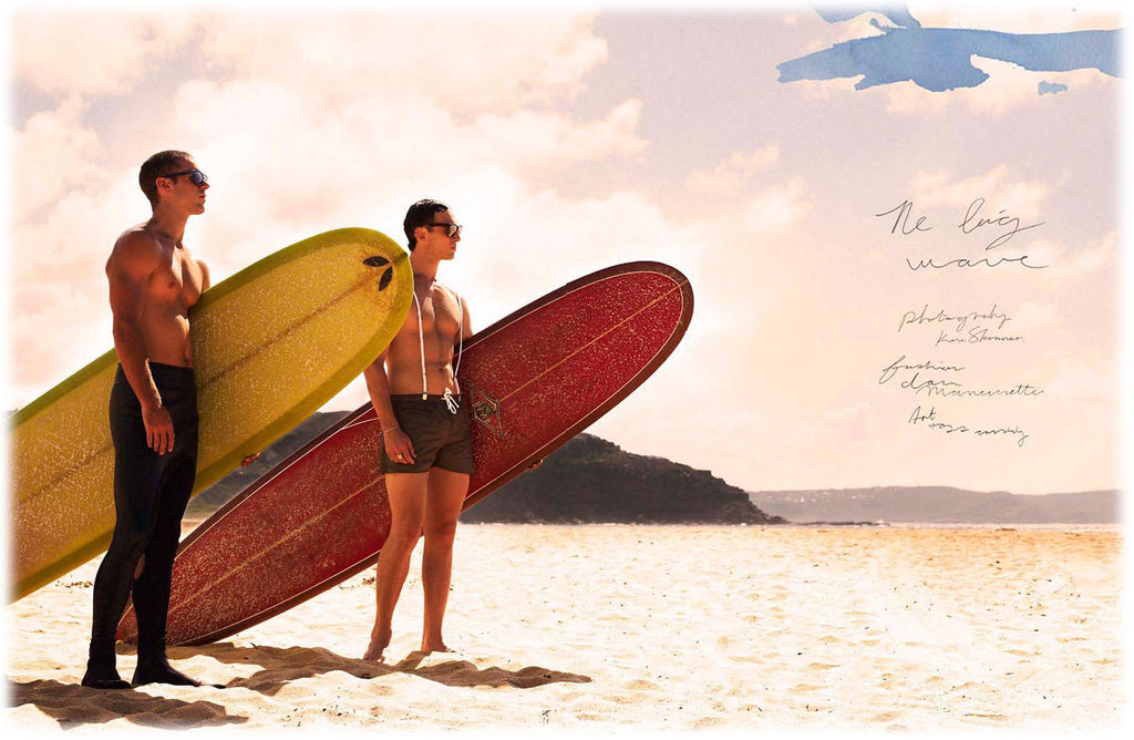 THE BIG WAVE- MENS FASHION