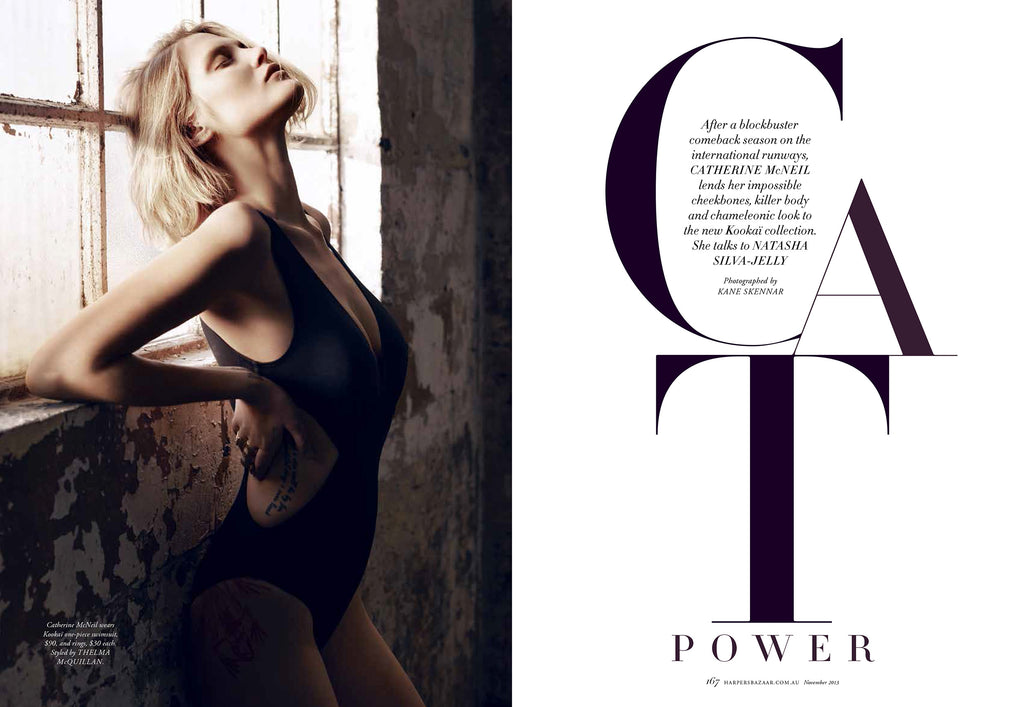 HARPERS BAZAAR-CAT POWER