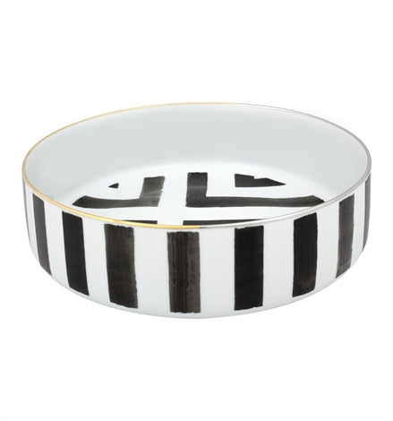 Large Salad Bowl Sol y Sombra by Christian Lacroix