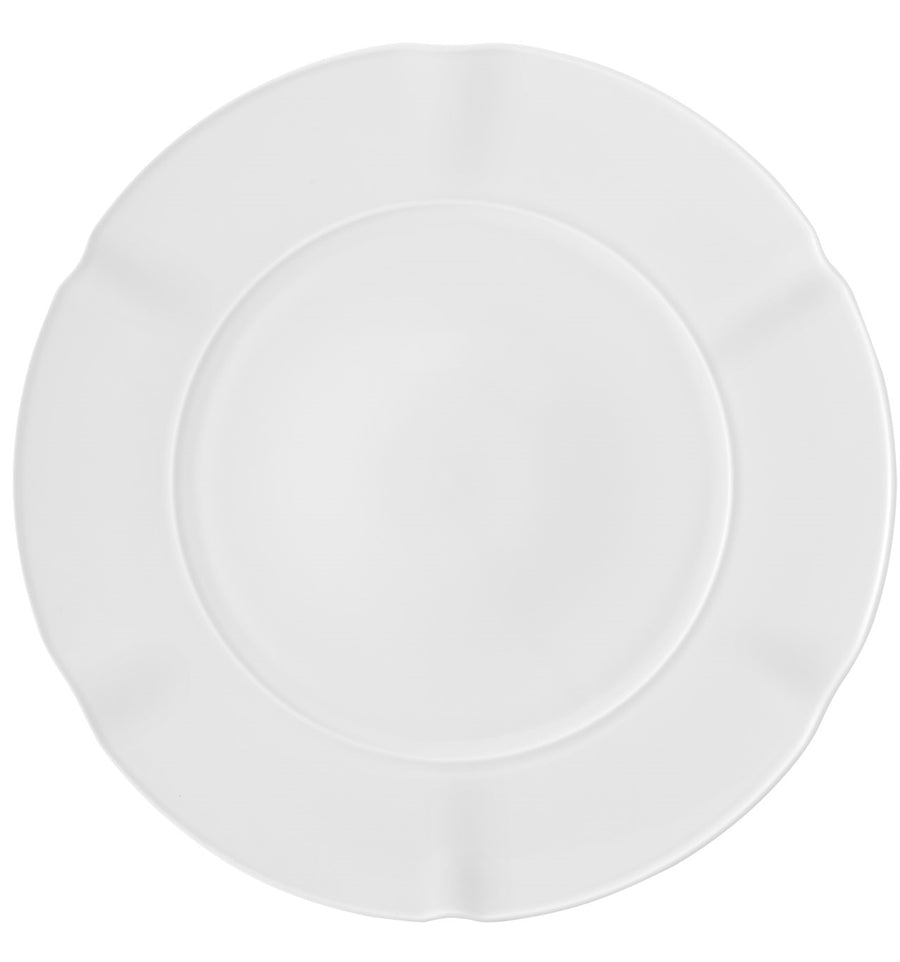 Crown White Dinner Plate