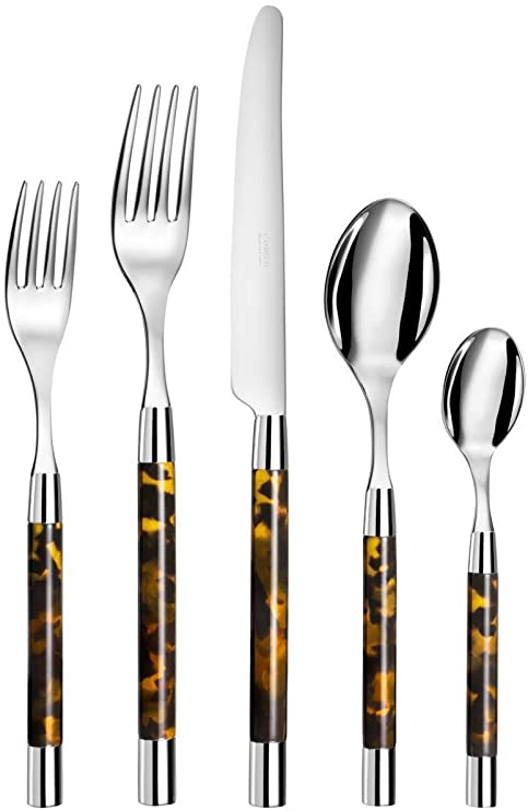 Conty Tortoise 5 Piece Flatware Set