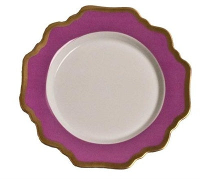 Anna´s Palette Purple Orchid Bread & Butter Plate