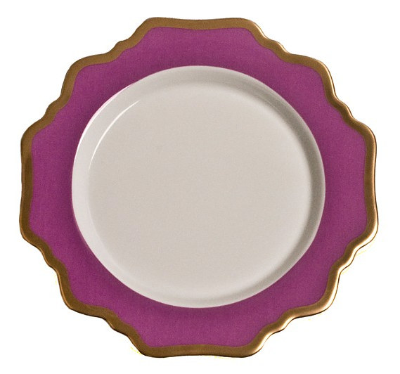 Anna´s Palette Purple Orchid Dinner Plate