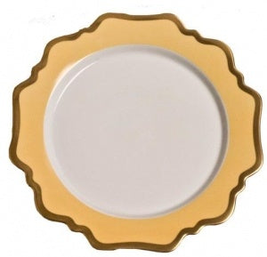 Anna´s Palette Sunburst Yellow Bread & Butter Plate