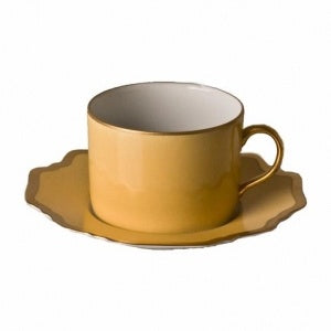 Anna´s Palette Sunburst Yellow Tea Saucer