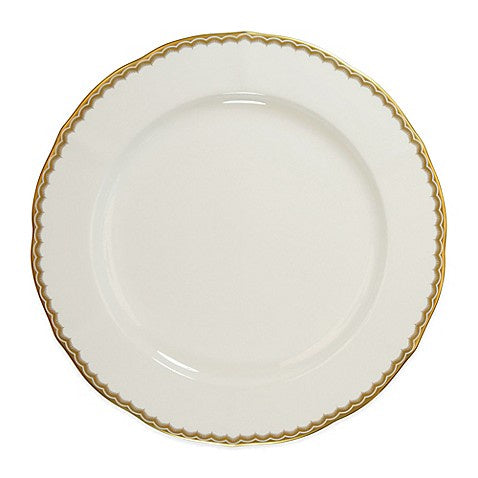 Antique Gold Louis Dinner Plate