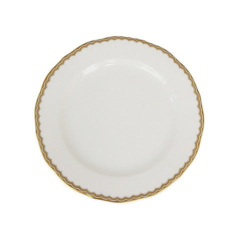 Antique Gold Salad Plate