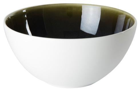 Art Glaze Cereal Bowl Clouded Smoke
