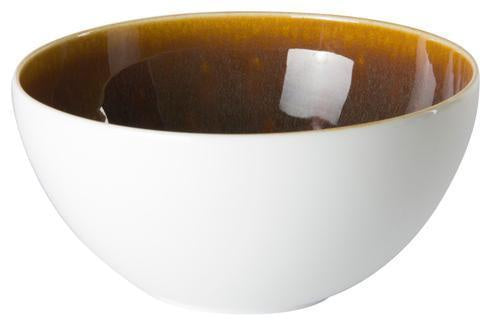 Art Glaze Cereal Bowl Flamed Caramel