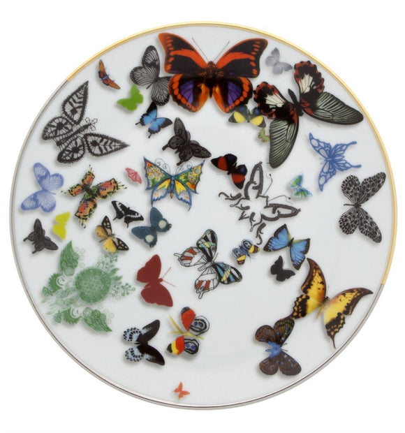 Butterfly Parade Dessert/Salad Plate  by Christian Lacroix