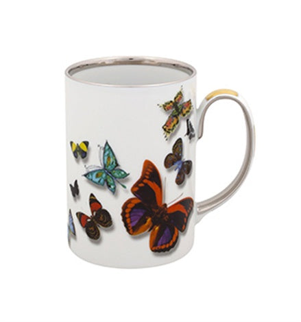 Butterfly Parade Mug  by Christian Lacroix