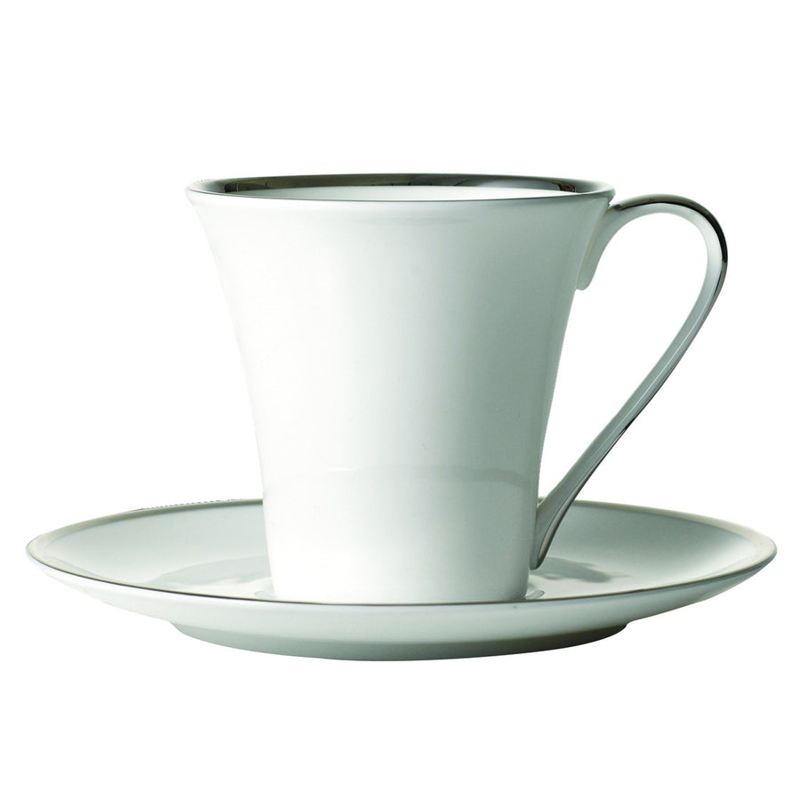 Comet Platinum Tea Cup & Saucer 2 Pc