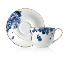 Emperor Flower Tea cup & Saucer 2 Pc