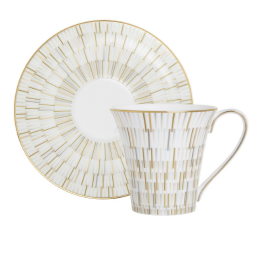 Luminous Tea Cup & Saucer 2 Pc