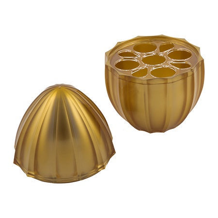 Mafalda Gold Flatware Holder