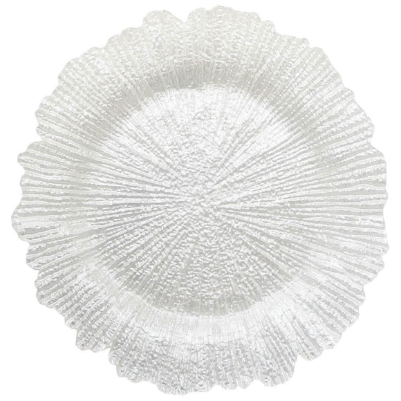 Reef Charger Plate Pearl 4 Pc