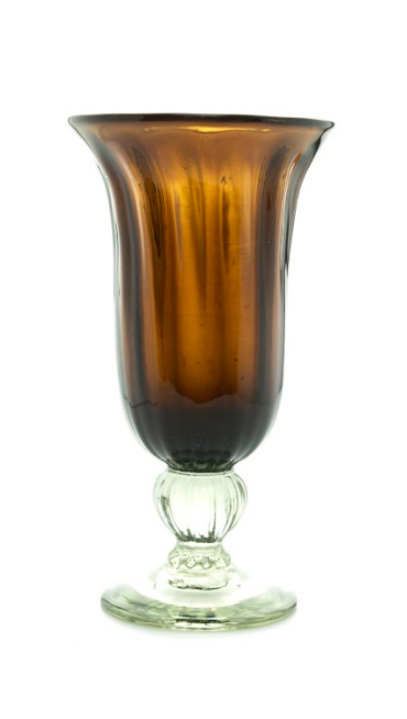 Glass Cup Brown