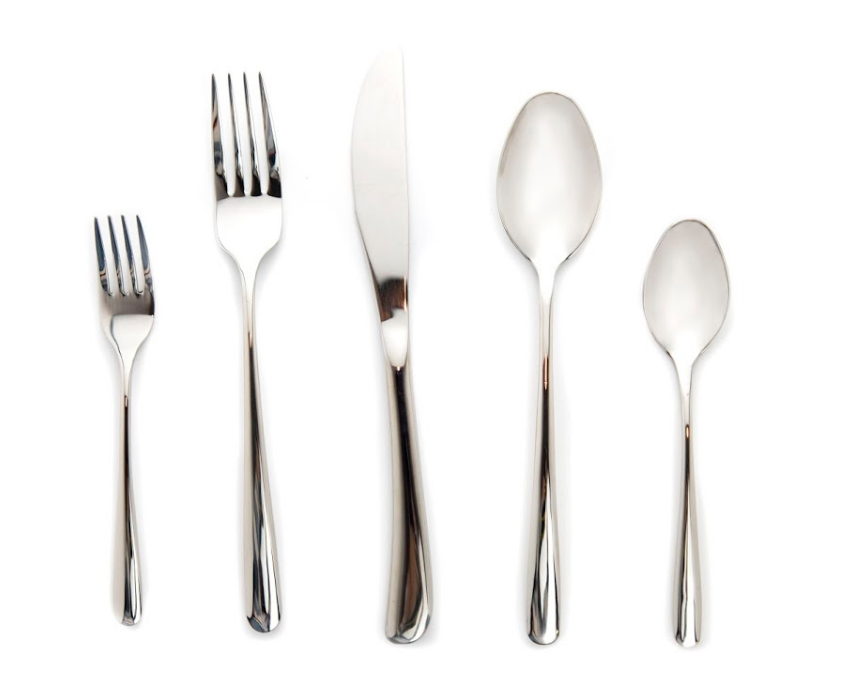 Shiny Silver Flatware