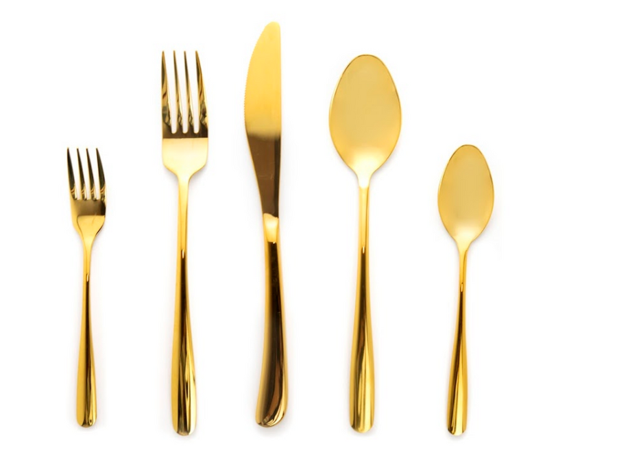 Shiny Gold Flatware