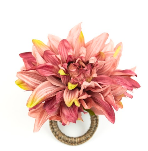 Chrysanthemum Pink Napkin Ring