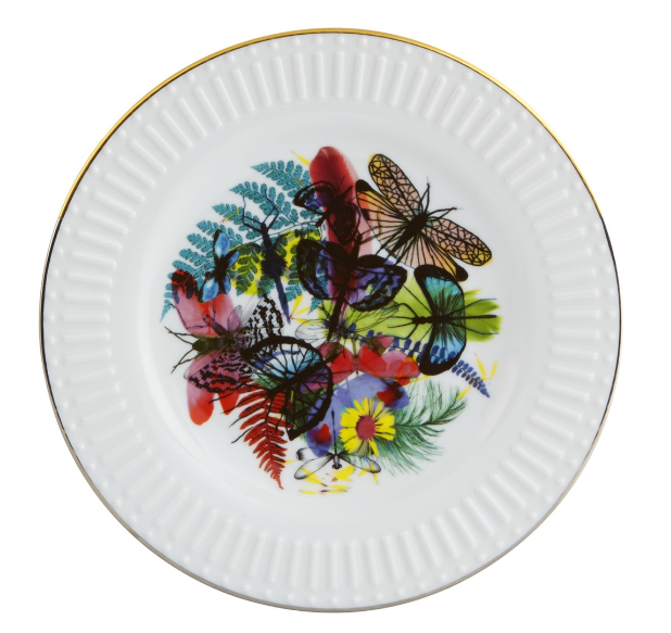 Caribe Dessert/Salad Plate  by Christian Lacroix