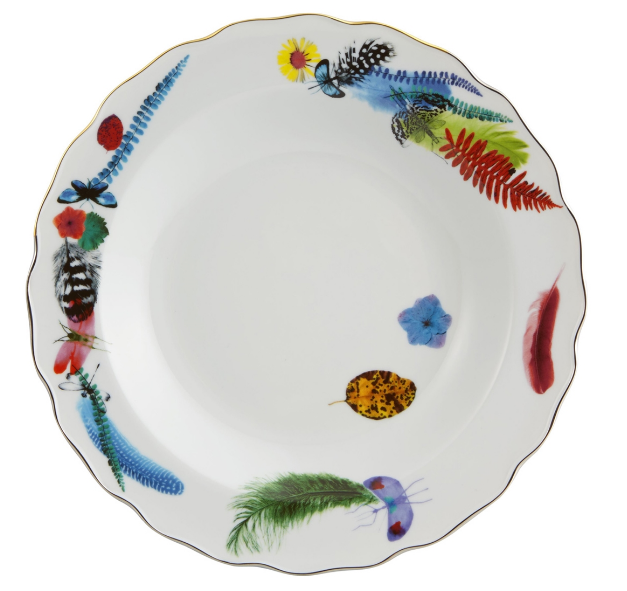 Caribe Soup Plate  by Christian Lacroix