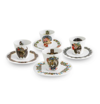 Love Who You Want Coffee Cups & Saucers  by Christian Lacroix