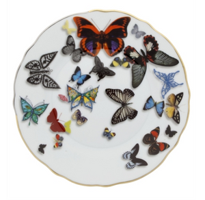 Bread & Butter Plate Butterfly Parade  by Christian Lacroix