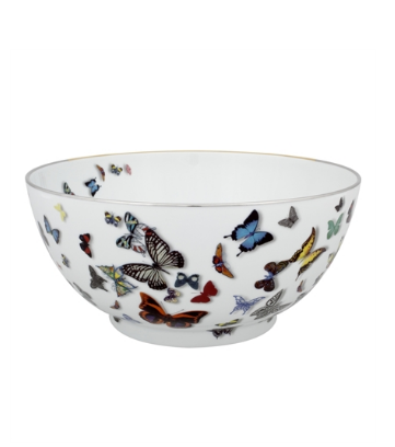 Salad Bowl Butterfly Parade by Christian Lacroix